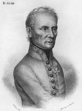 Le général Karl Mack von Leiberich