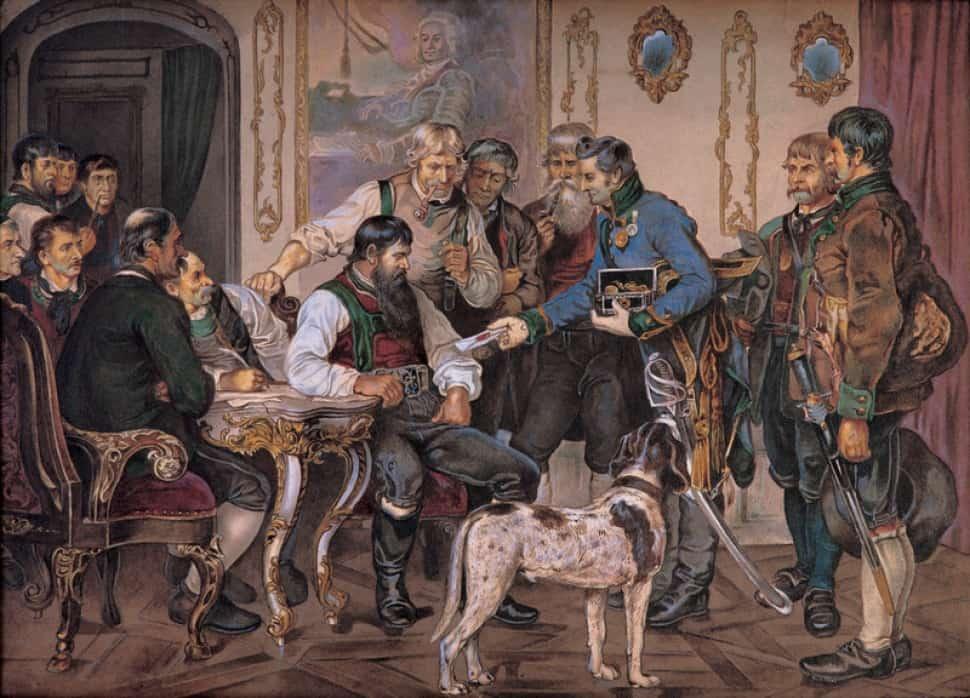 "Andreas Hofer ""Régent du Tyrol"""