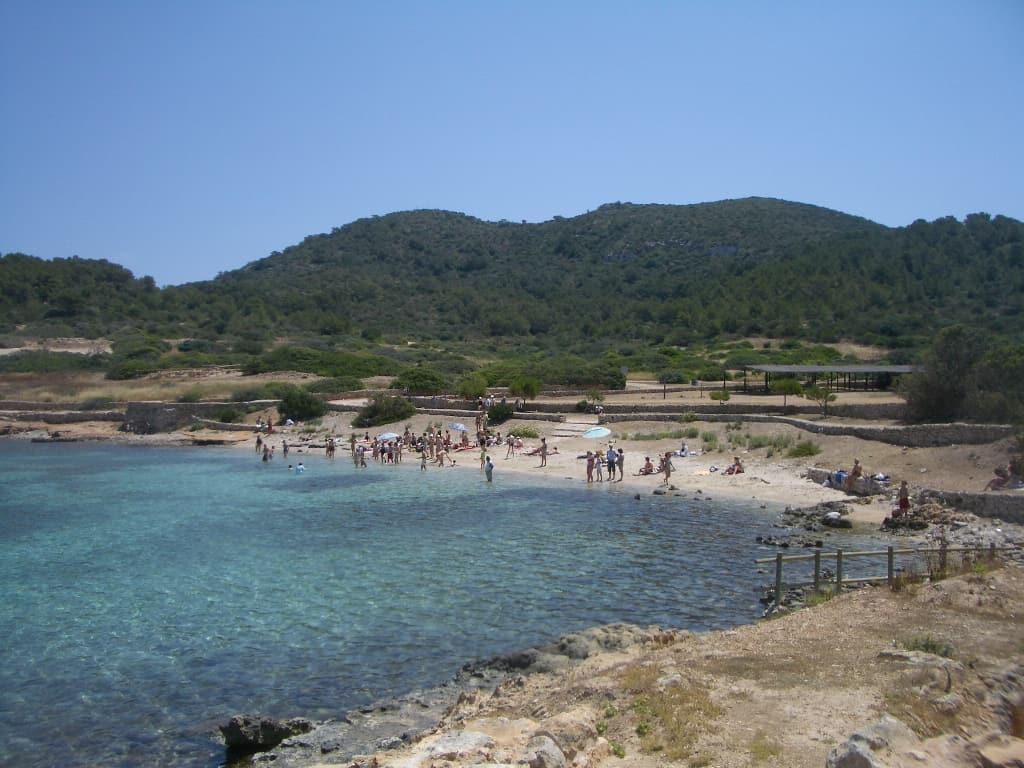 La plage de Cabrera