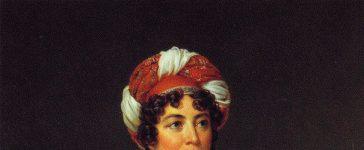 Portrait de Mme de Stael par Gérard