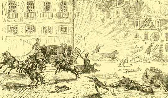 L'attentat de la rue Saint-Nicaise
