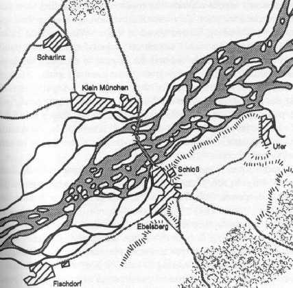 Carte d'Ebelsberg