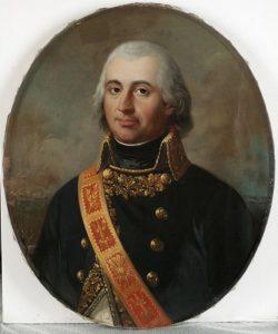 Le général Gudin de la Sablonnière, commandant la 3e division de Davout