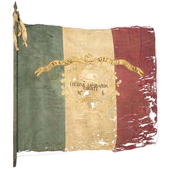 Drapeau de la Légion lombarde