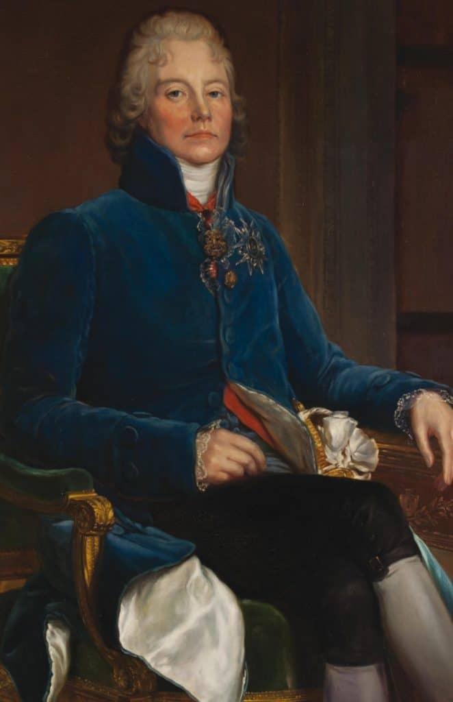 Portrait de Talleyrand par Gérard