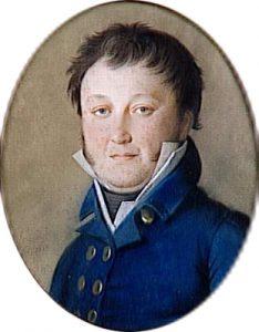 Portrait de Constant Wairy, dit Constant (1778-1845), premier valet de chambre de Napoléon Ier jusqu'en 1814 - Johann Heinrich Schmidt - Base de données Joconde