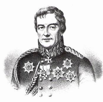 Ludwig von Wolzogen (1773-1845) - Portrait de 1829.
