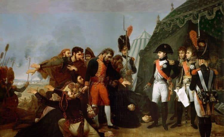 Capitulation de Madrid -Gros