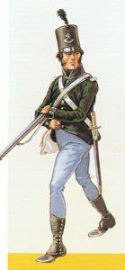 Fantassin des Corsican Rangers