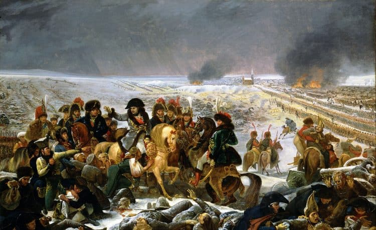 Napoléon à Eylau - Gros