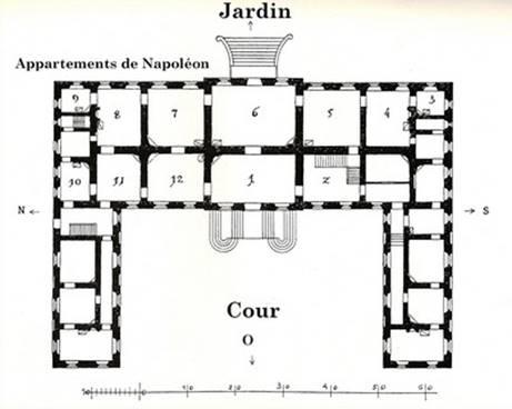 Premier étage du château