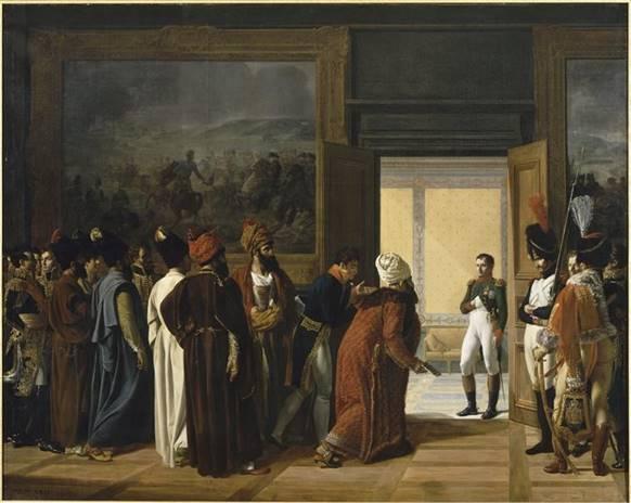 Réception du shah de Perse à Finkenstein