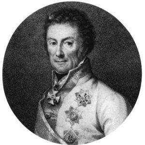 Portrait de Klenau, vers 1801. Wikipedia