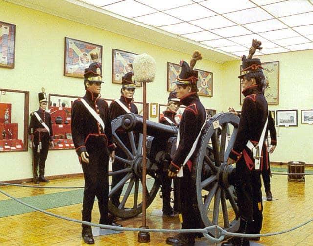 Le musée militaire de Luso