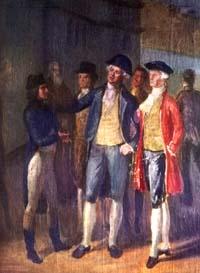 Rencontre entre Napoléon Bonaparte et Paoli