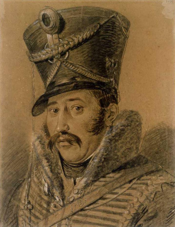 Ferdinand von Schill, Portrait de Ludwig Buchhorn (1808/09)