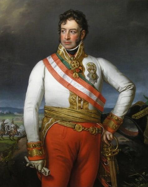 Carl Philipp von Schwarzenberg. Artiste inconnu