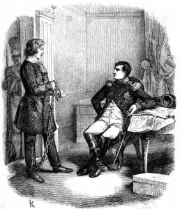 Interrogatoire de Staps par Napoléon