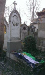 Tombe de Godoy au cimetière du Père Lachaise
