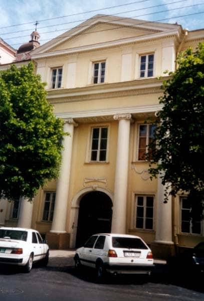 Maison où Jomini habita à Vilnius