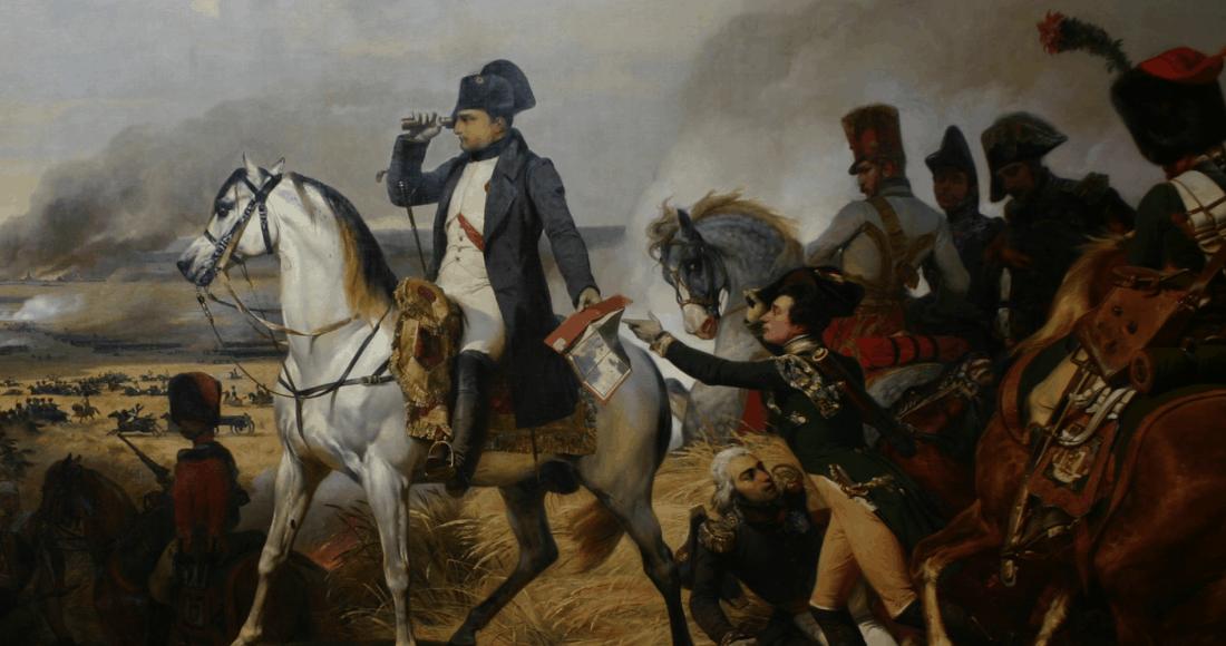 Napoléon à Wagram - Horace Vernet - Château de Versailles