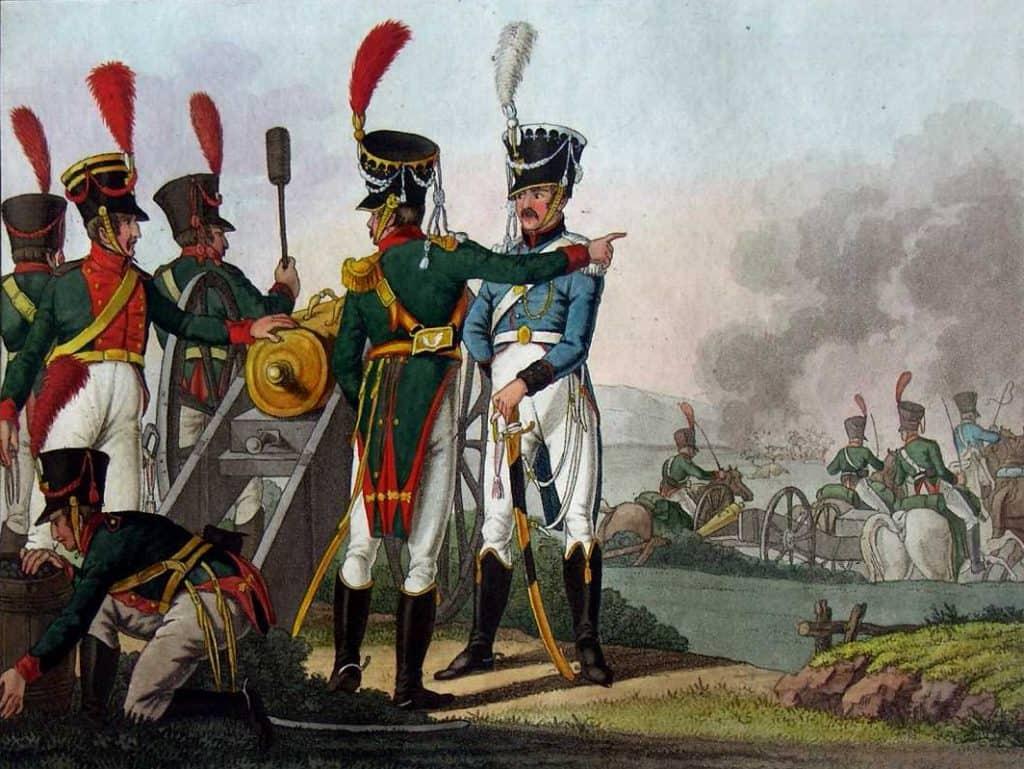 Artillerie saxonne. Ausburger Uniform. Markus Stein
