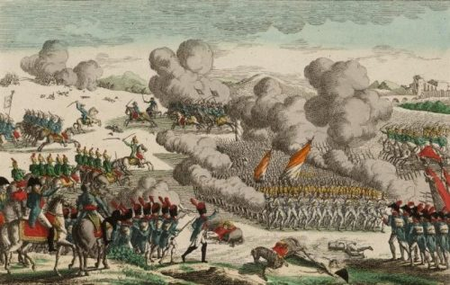 Bataille d'Eckmühl (Rugendas)