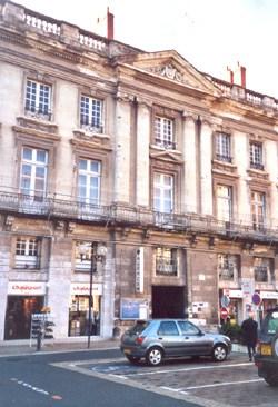 L'hôtel Blancler, à Saumur