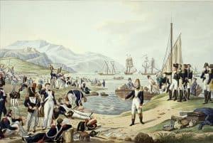 Débarquement à Golfe-Juan le 28 février 1815