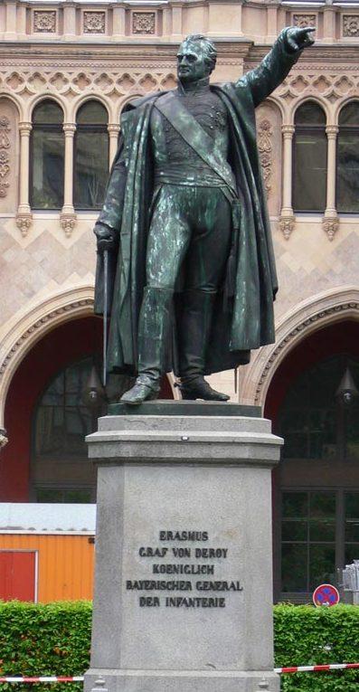 Le monument Deroy à Munich