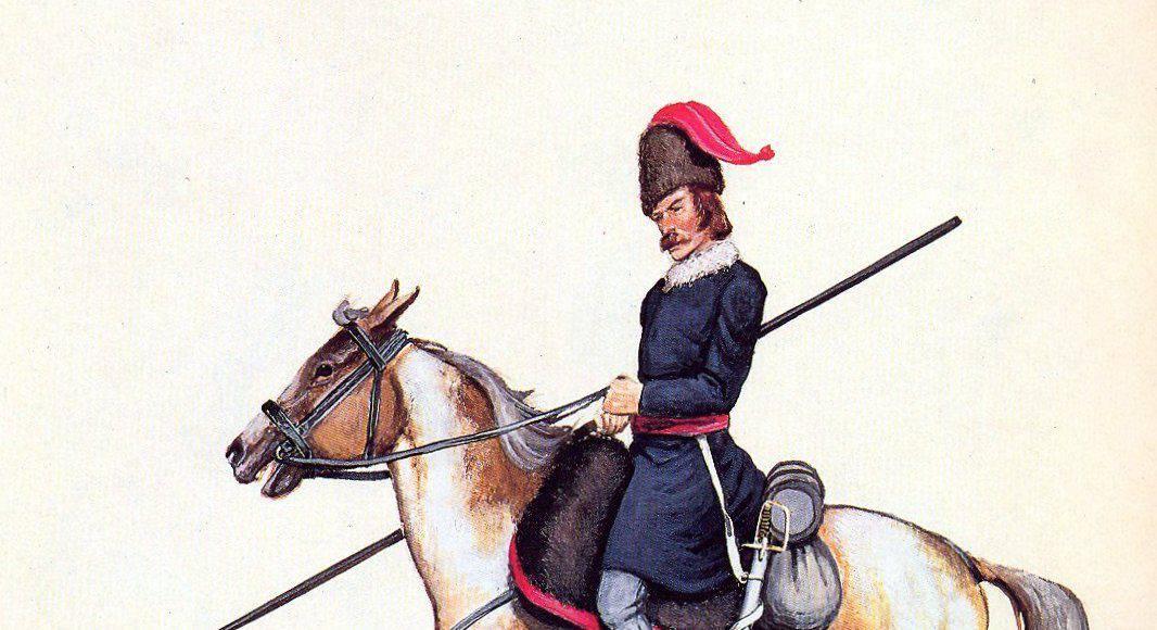 Cavalerie légère polonaise. Les Krakus (1813)