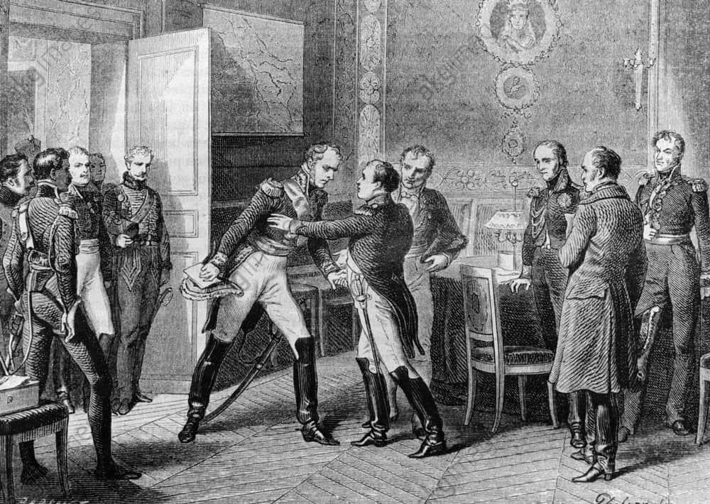 Napoleon et Ney 1815 / Philippoteaux