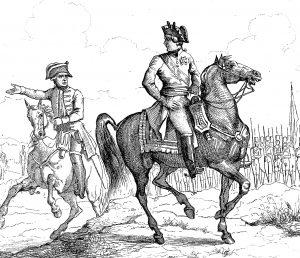 Officier général autrichien. France militaire