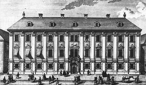 Le palais Esterhazy de la Wallnerstrasse