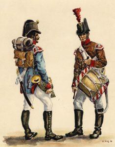Pionnier et tambour de lartillerie- Anne S.K. Brown Military Collection.