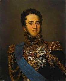 Louis Gabriel Suchet, duc d'Albufuera. Adèle Gault. Musée de l'Armée