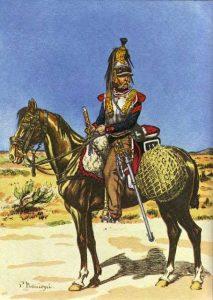 Cavalier du 13e cuirassiers