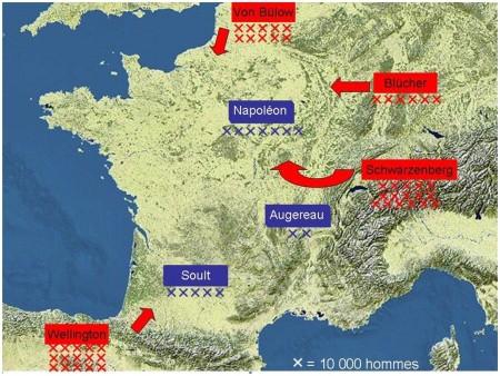 France 1814 - L'invasion