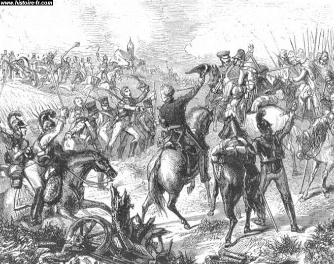 La défection des Saxons