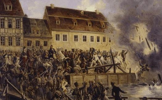 Explosion des ponts de Leipzig
