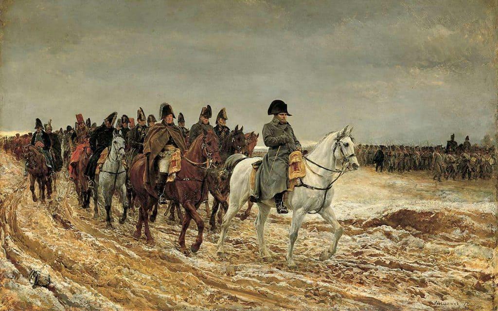 La campagne de France - Meissonier.