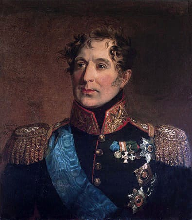 Portrait de Miloradovich par G. Dawe (Hermitage)