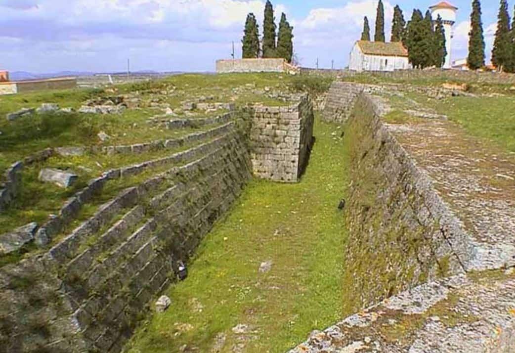 Les restes du fort (photo Timmermanns)
