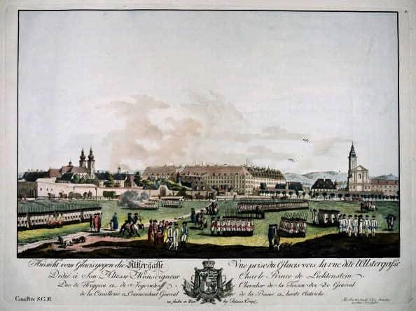 La Alser-Kaserne de Vienne