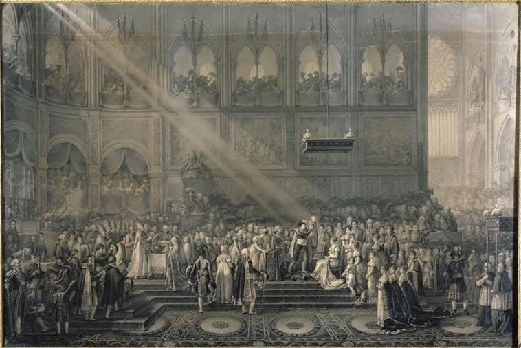 Le baptême du roi de Rome (Innocent-Louis Goubaud)