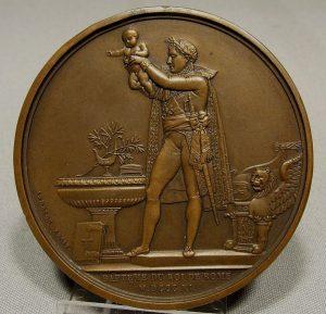 Médaille commémorative du baptême