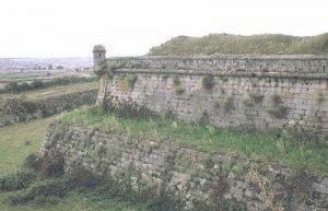 Le bastion nord de la forteresse d'Almeida