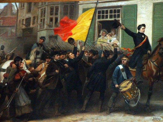 La Belgique se révolte en 1830