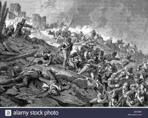 Bataille de Burgos le 7 novembre 1808