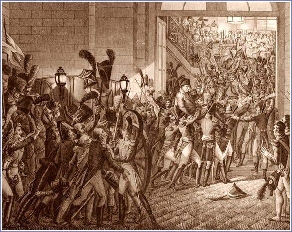 Entrée de Napoléon aux Tuileries
